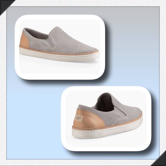 aa5cc004e2d UGG Adley Perf Sneaker in Seal Grey NWT